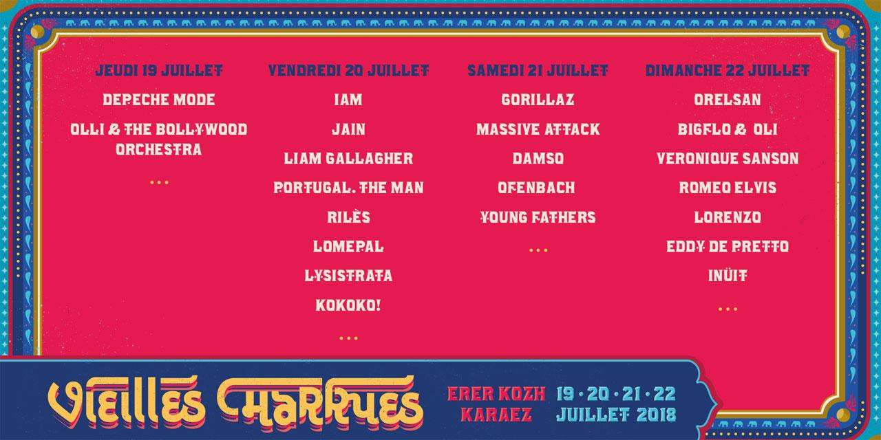 Festival Les Vielles Charrues 2018