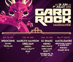 Garorock festival_Juillet 2018