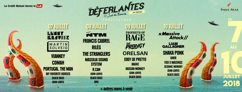 Les Deferlantes Festival 2018